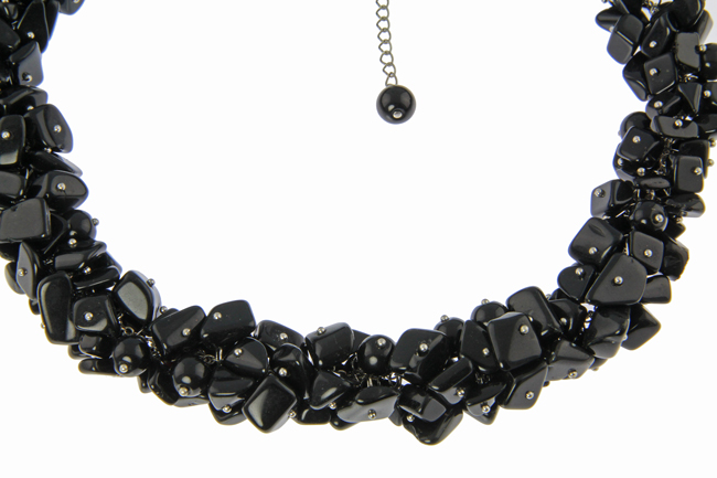 Design 21209: black onyx necklaces