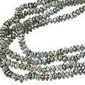 Design 12868: blue,gray labradorite contemporary necklaces