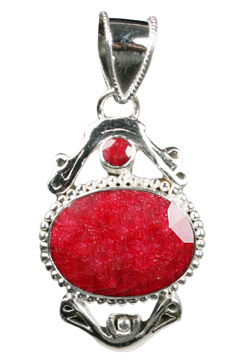 Design 10083: red ruby pendants