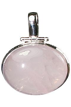 Design 10270: pink rose quartz pendants