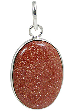 Design 10659: orange,red goldstone pendants