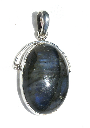 Design 11104: blue,gray,purple labradorite pendants