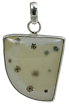 Design 11150: black,brown,white onyx pendants