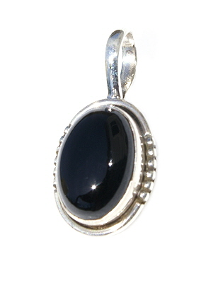 Design 11185: black onyx pendants