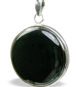 Design 11203: black onyx pendants