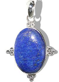 Design 11965: blue lapis lazuli american-southwest pendants