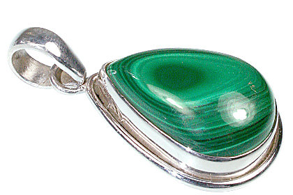 Design 11996: green malachite american-southwest pendants