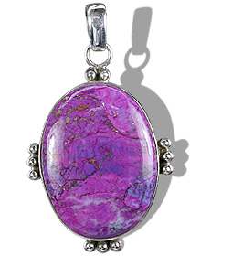 Design 12116: blue,purple mohave american-southwest pendants