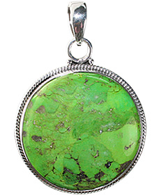 Design 12128: brown,green mohave american-southwest pendants