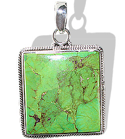 Design 12131: brown,green mohave american-southwest pendants