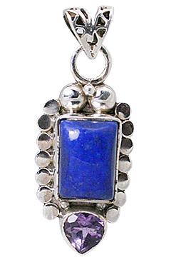 Design 12301: blue,purple lapis lazuli staff-picks pendants