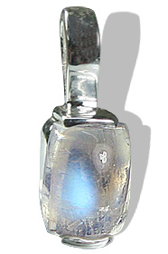 Design 12781: white moonstone engagement, mini pendants