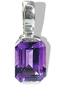 Design 12782: purple amethyst brides-maids pendants