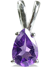 Design 12790: purple amethyst engagement, mini pendants