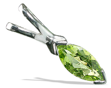 Design 12828: green peridot engagement, mini pendants