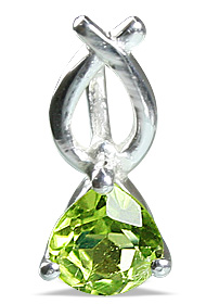 Design 12834: green peridot engagement, mini pendants