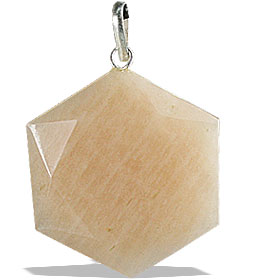 Design 13193: pink moonstone pendants