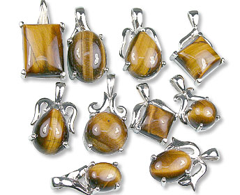 Design 13423: brown,yellow bulk lots pendants