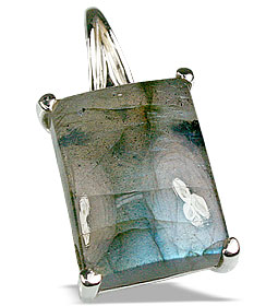 Design 13477: green,gray labradorite pendants