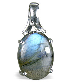 Design 13480: green,gray labradorite pendants