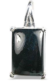 Design 13482: black onyx pendants
