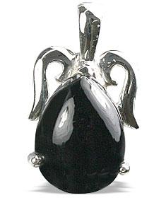 Design 13485: black onyx pendants