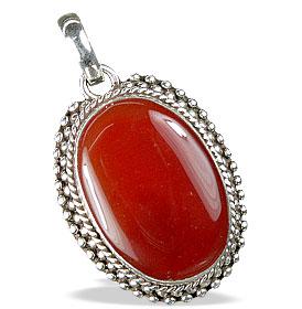 Design 13674: red onyx pendants