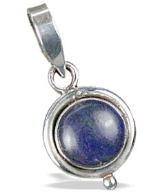 Design 13723: blue lapis lazuli mini pendants