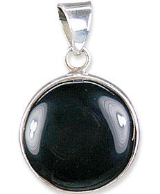 Design 13731: black onyx pendants