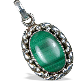 Design 13794: green malachite american-southwest pendants