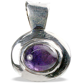 Design 13824: purple amethyst mini pendants