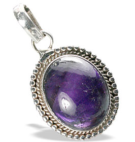 Design 13831: purple amethyst american-southwest pendants