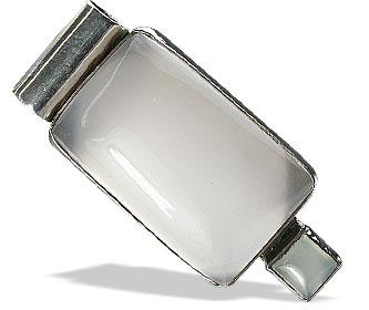 Design 13851: white onyx art-deco pendants