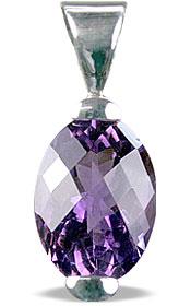 Design 13928: purple amethyst pendants