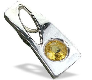 Design 14692: yellow citrine pendants