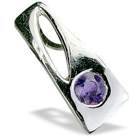 Design 14693: purple amethyst pendants