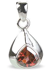 Design 14700: red garnet pendants