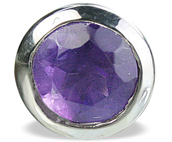 Design 14709: purple amethyst pendants