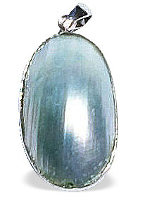 Design 14973: gray shell pendants