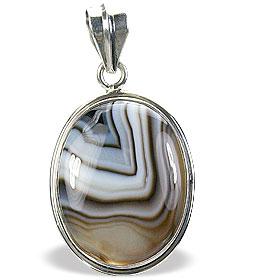 Design 15361: black,white onyx pendants