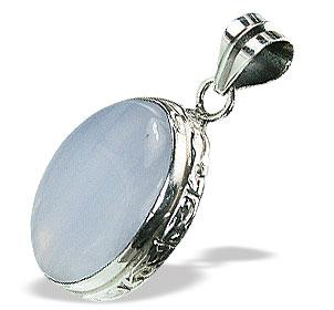 Design 15513: blue blue lace agate pendants