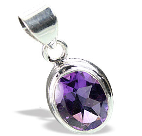 Design 15533: purple amethyst mini pendants