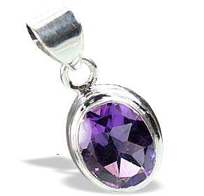Design 15533: purple amethyst mini pendants