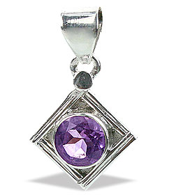 Design 15635: purple amethyst mini pendants