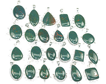 Design 15672: green bulk lots pendants