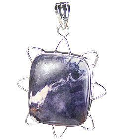 Design 15699: gray tiffany stone pendants