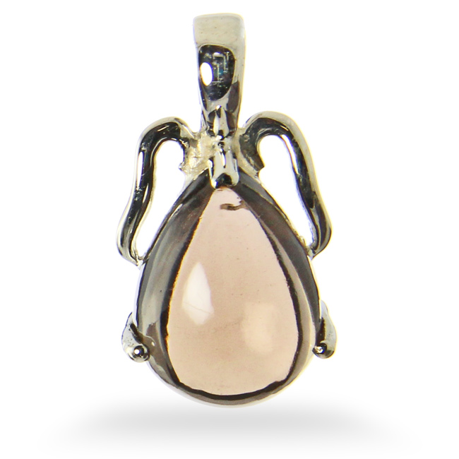 Design 21208: brown smoky quartz pendants