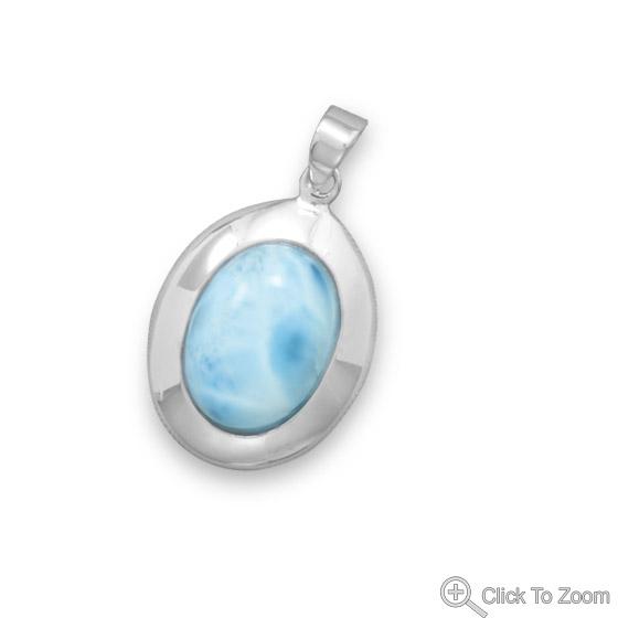 Design 22068: blue larimar american-southwest pendants