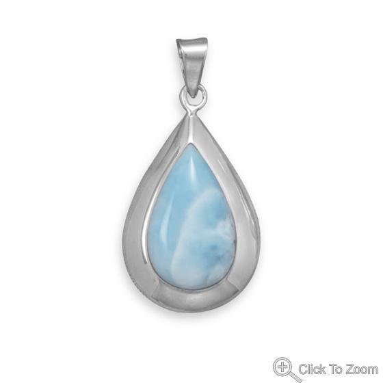 Design 22088: blue larimar pendants