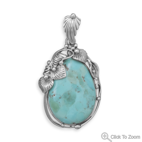 Design 22092: blue turquoise american-southwest pendants